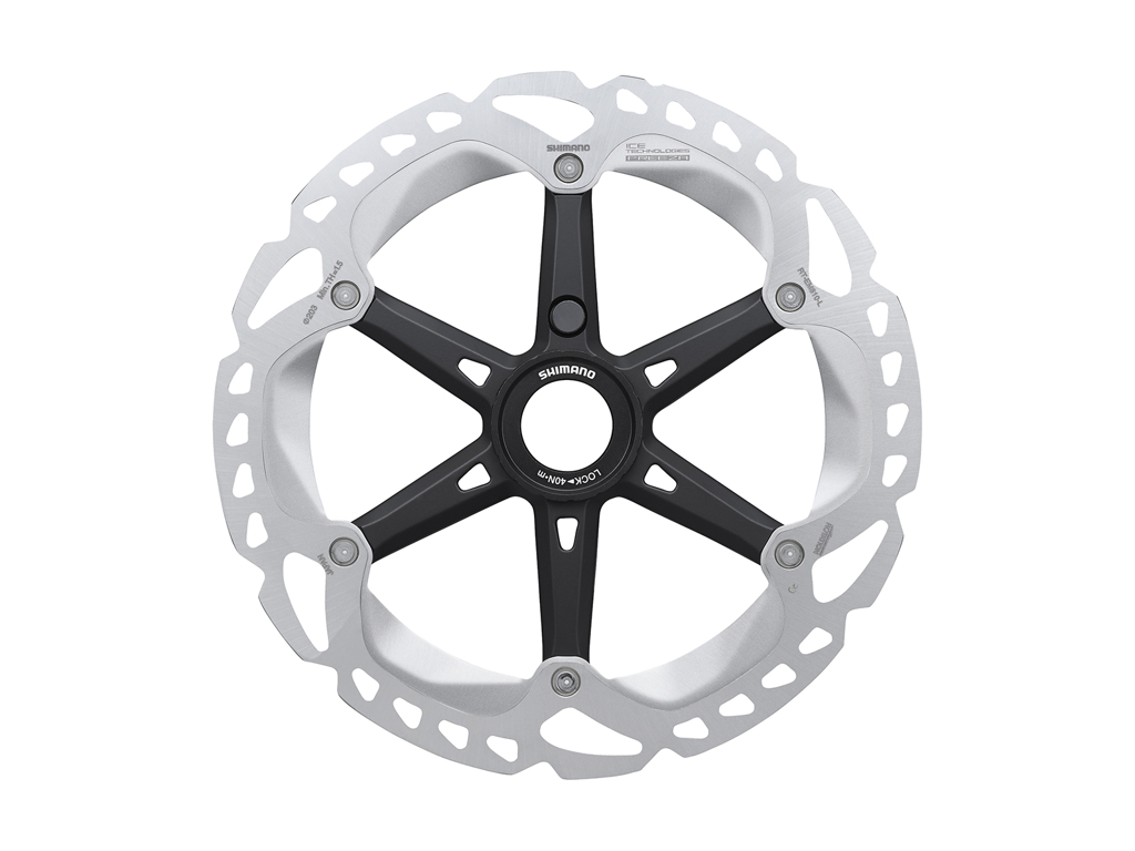Image of   Shimano XT Rotor - Ice-Tech EM810-INT - 180 mm med Ice-Tech Freeza - Til center lock