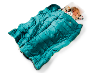 Deuter Starlight SQ - Sovepose til børn - Petrol