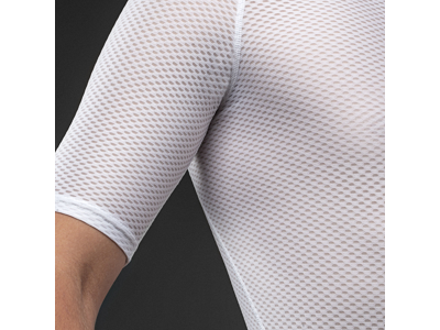 GripGrab Ultralight Mesh Base Layer - Svedundertrøje K/Æ - Hvid