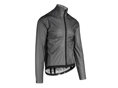 Assos Equipe RS Schlosshund Rain Jacket EVO - Cykelregnjakke - Sort