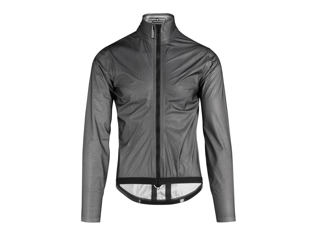 Image of   Assos Equipe RS Schlosshund Rain Jacket EVO - Cykelregnjakke - Grå - Str. L