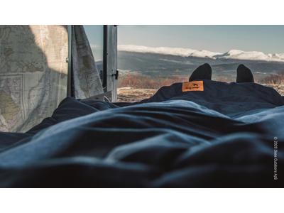 Easy Camp Moon - Sovepose til voksne - Blå