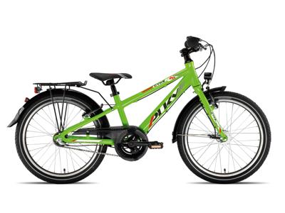 """Puky - Cyke 20"""" Alu - Børnecykel - Grøn"""