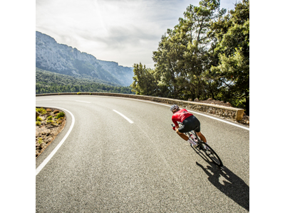 GripGrab Aero TT Raceday - Cykelhandske - Rød