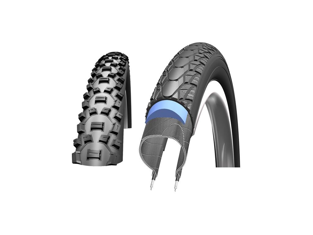 Kanttrådsdæk til MTB cykler