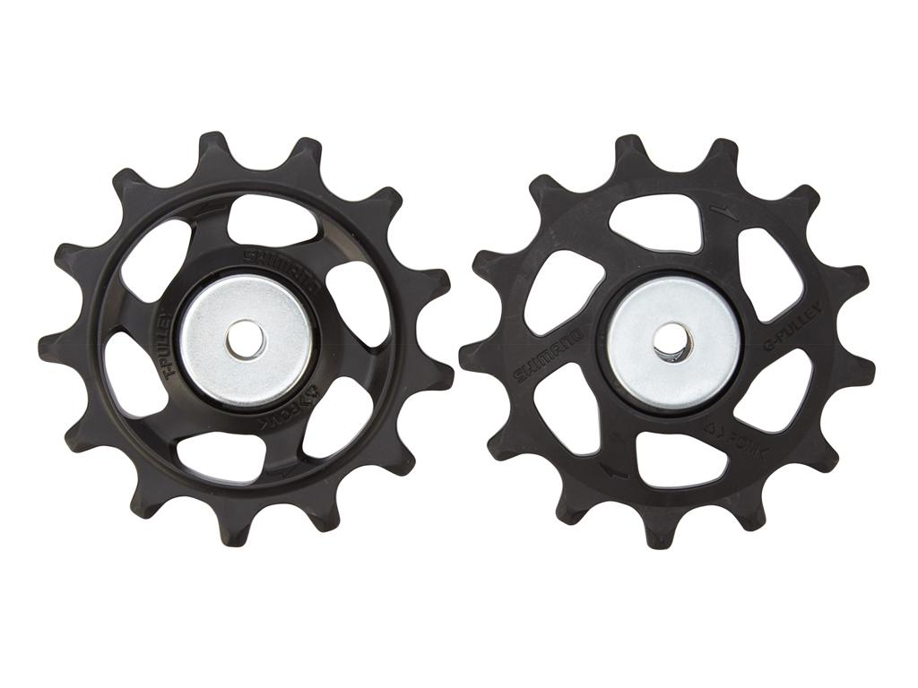 Image of   Shimano SLX - Pulleyhjul M7100 - 12 gears - Sæt af 2 stk.