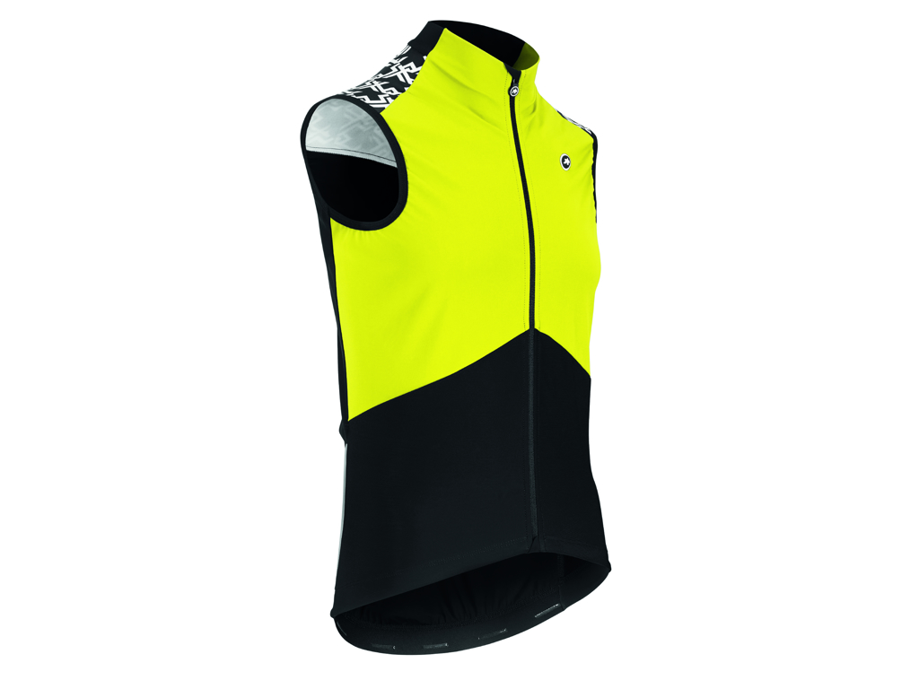 Image of   Assos Mille GT Airblock Vest Spring Fall - Cykelvest - Fluo gul - Str. L
