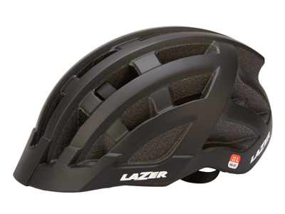Lazer Compact DLX - Cykelhjelm Urban - Str. 54-61 cm - Mat sort