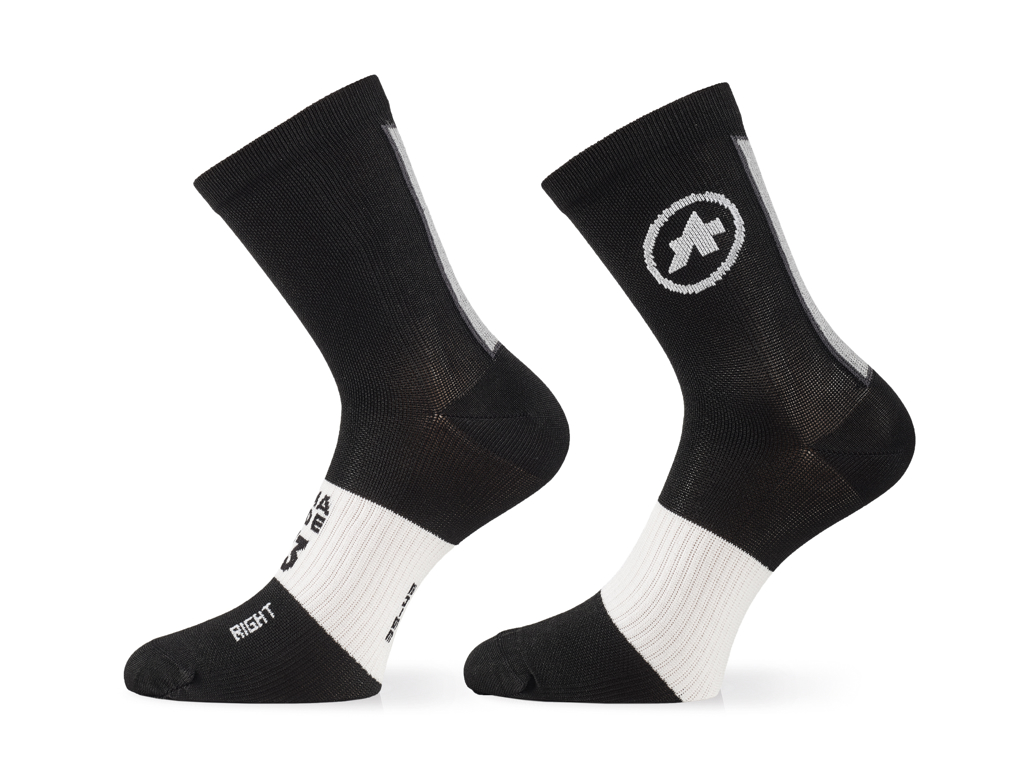 Image of   Assos Summer Socks - Cykelstrømper - Sort - Str. I