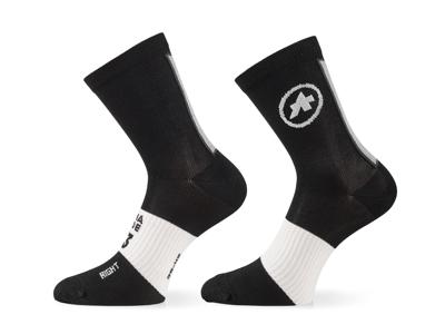 Assos Summer Socks - Cykelstrømper - Sort