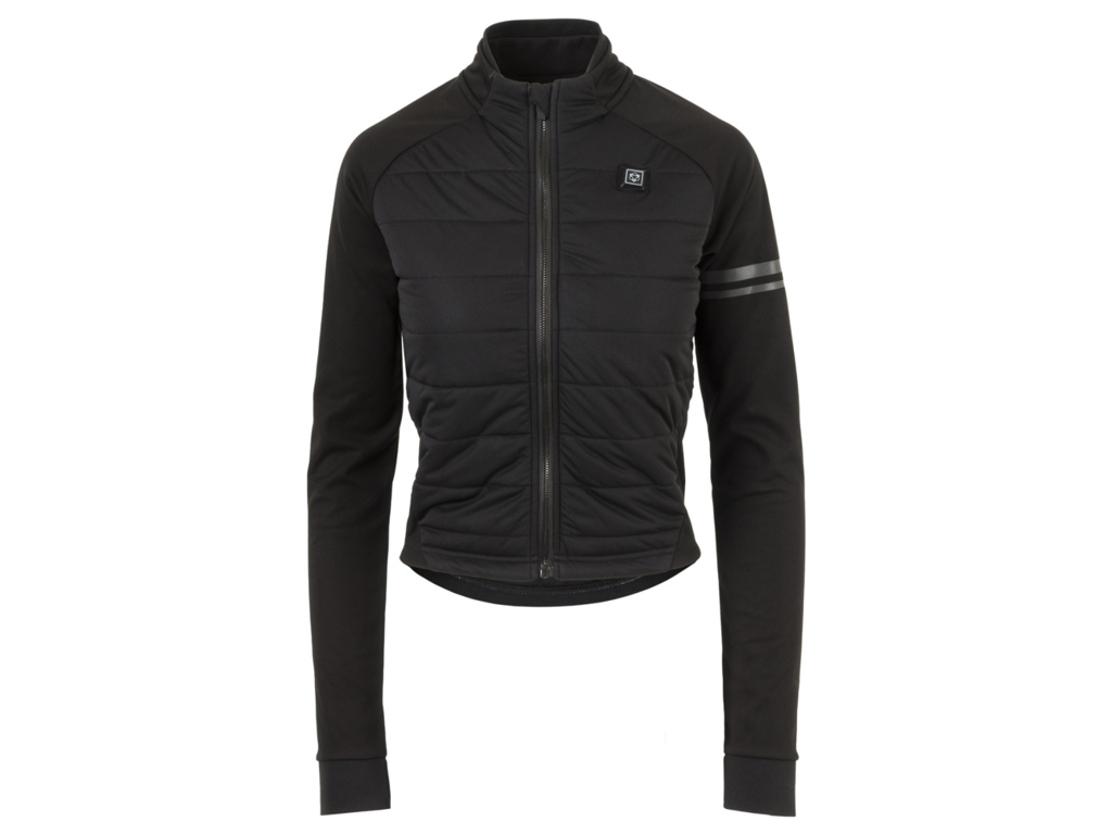AGU Deep Winter Heated Jacket - Dame cykeljakke med varmezoner - Sort - Str. S thumbnail