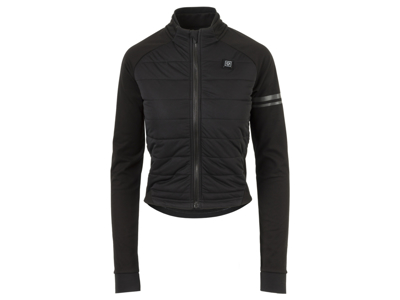 AGU Deep Winter Heated Jacket - Dame cykeljakke med varmezoner - Sort - Str. M