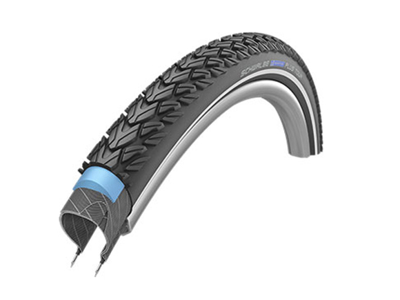 Schwalbe Marathon Plus Tour - Smart-Guard Tråddæk - 26x1,75 (47-559) Sort refleks