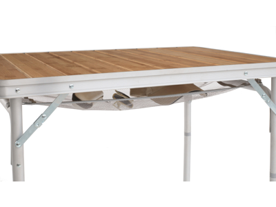 Outwell Calgary S - Spisebord i bambus - Alu stel - Brunt