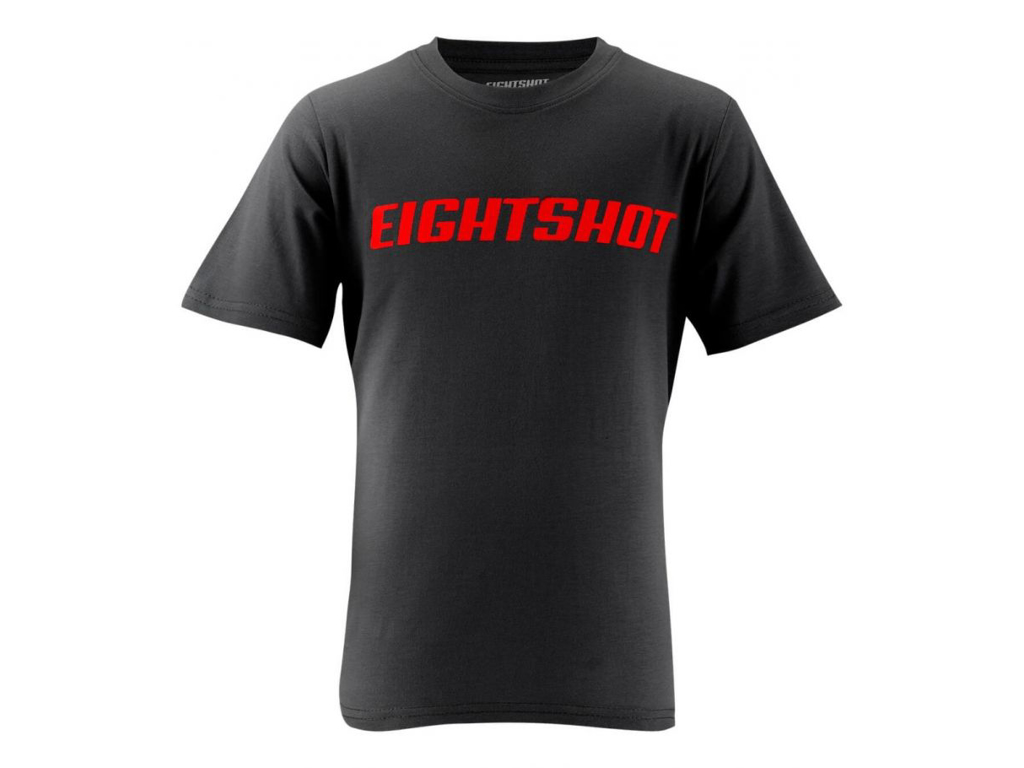 Image of   Eightshot - T-Shirt til børn - Sort - Str. 128