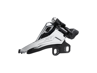 Shimano XT - Forskifter M8100-E - 2 x12 gear - Direkte montering ved krank