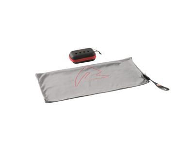 Robens - Fjell Håndklæde med Etui str - Grå/Sort