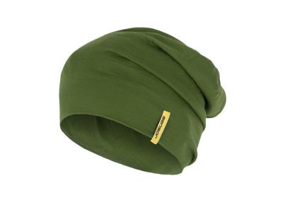 Sensor mössa - Merinoull - Grön