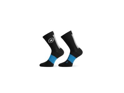 Assos Winter Sockes blackSeries - Cykelstrømpe - Sort