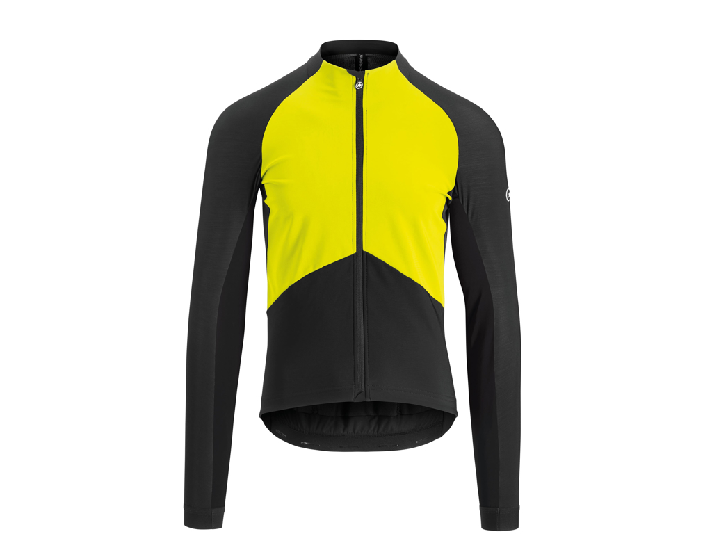 Image of   Assos Mille GT Jacket Spring Fall - Cykeljakke - Herre - Sort/gul - Str. XL