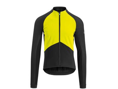 Assos Mille GT Jacket Spring Fall - Cykeljacka - Herr - Svart/Gul