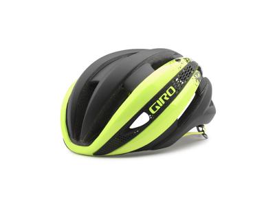 Giro Synthe - Cykelhjelm - Neongul/Matsort