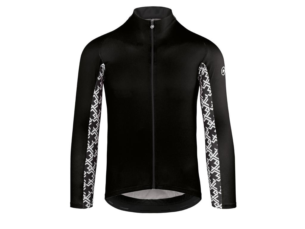 Assos Mille Jersey GT - Cykeltrøje m. lange ærmer - Sort - Str. TIR thumbnail