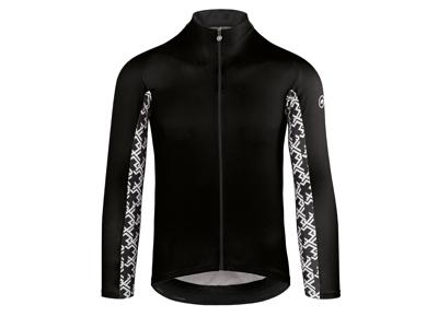 Assos Mille Jersey GT - Cykeltrøje m. lange ærmer - Sort
