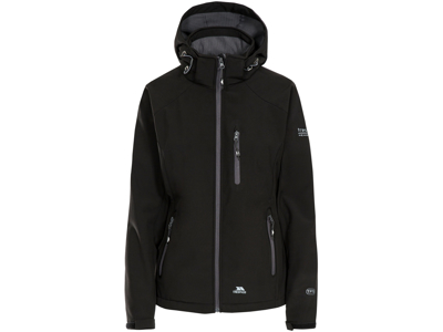 Trespass Bela - Dame Softshell jakke- Sort