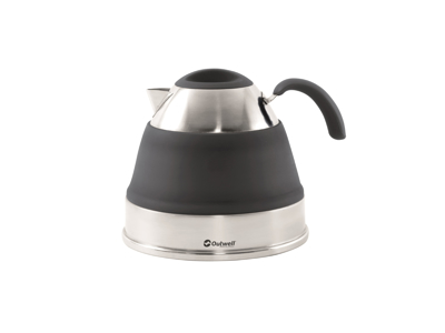 Outwell Collaps Kettle - Kaffekande - Foldbar - 2,5 liter -Sort