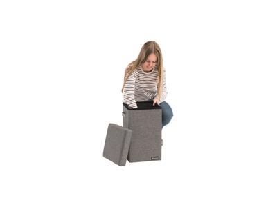 Outwell Cornillon High - Stol og Opbevaring foldbar - Grå