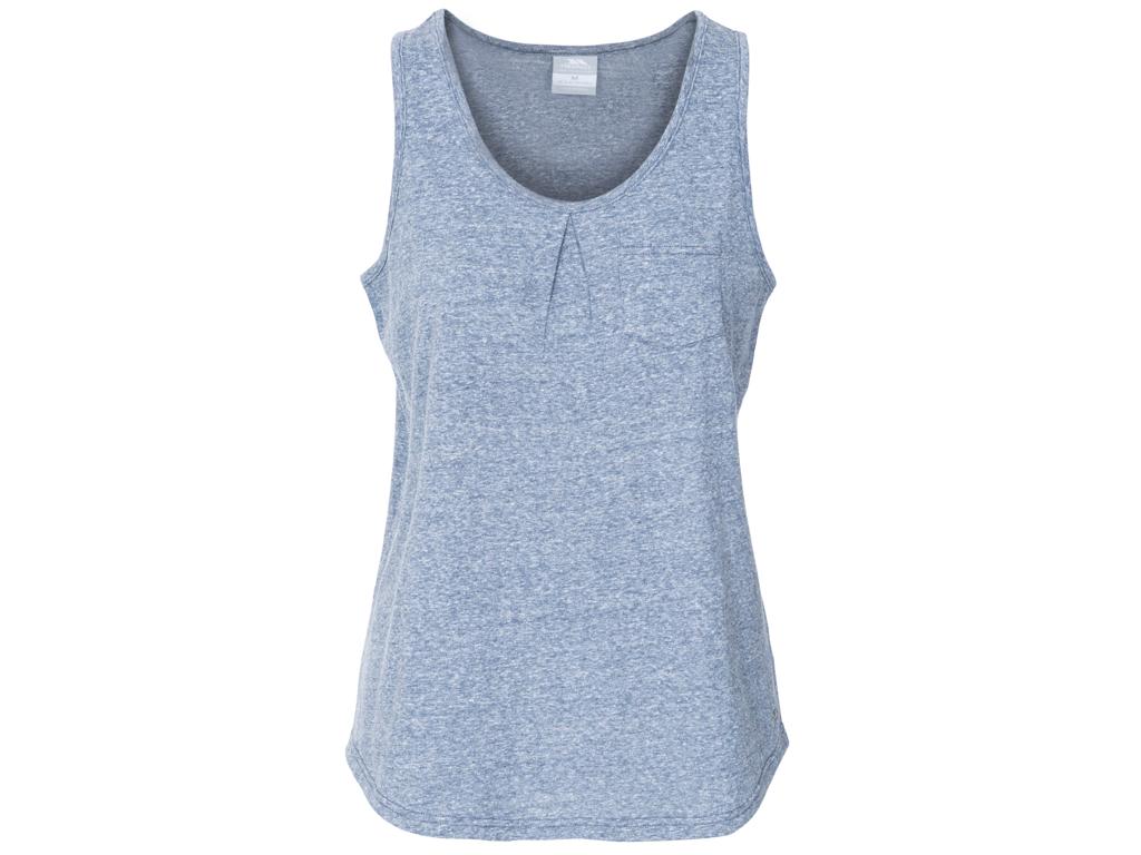 Image of   Trespass Fidget - Dame bluse uden ærmer - Blå - Str. XS
