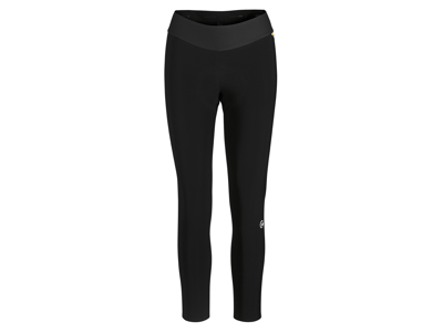Assos Uma GT Spring/Fall Half Tight - Dame cykeltights med pude - Sort
