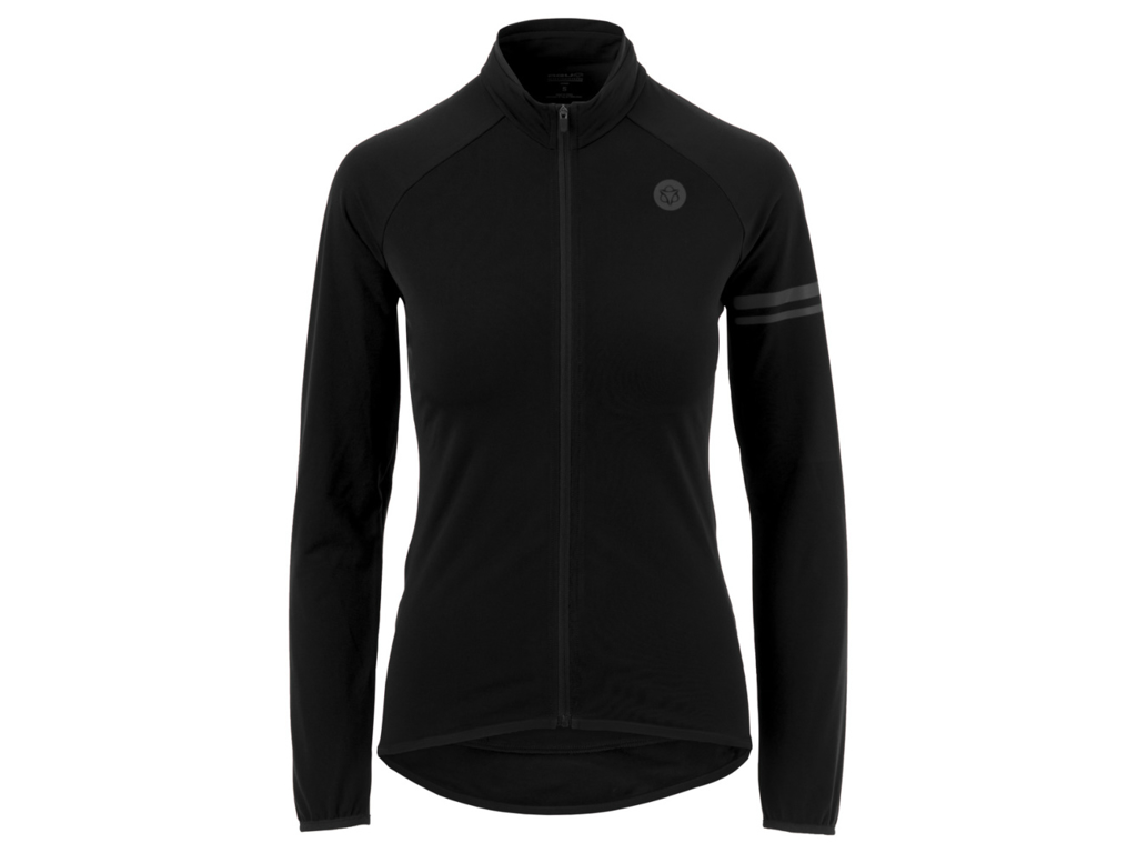 Image of   AGU Essential Thermo Jersey - Dame cykeltrøje L/Æ - Sort - Str. L