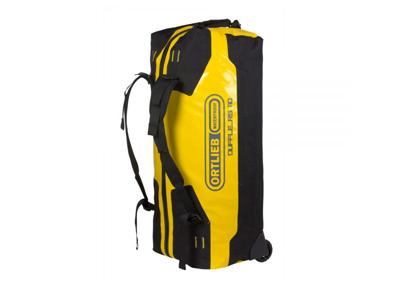 Ortlieb Duffle RS - Rejsetaske m. hjul - Gul/sort - 110 liter