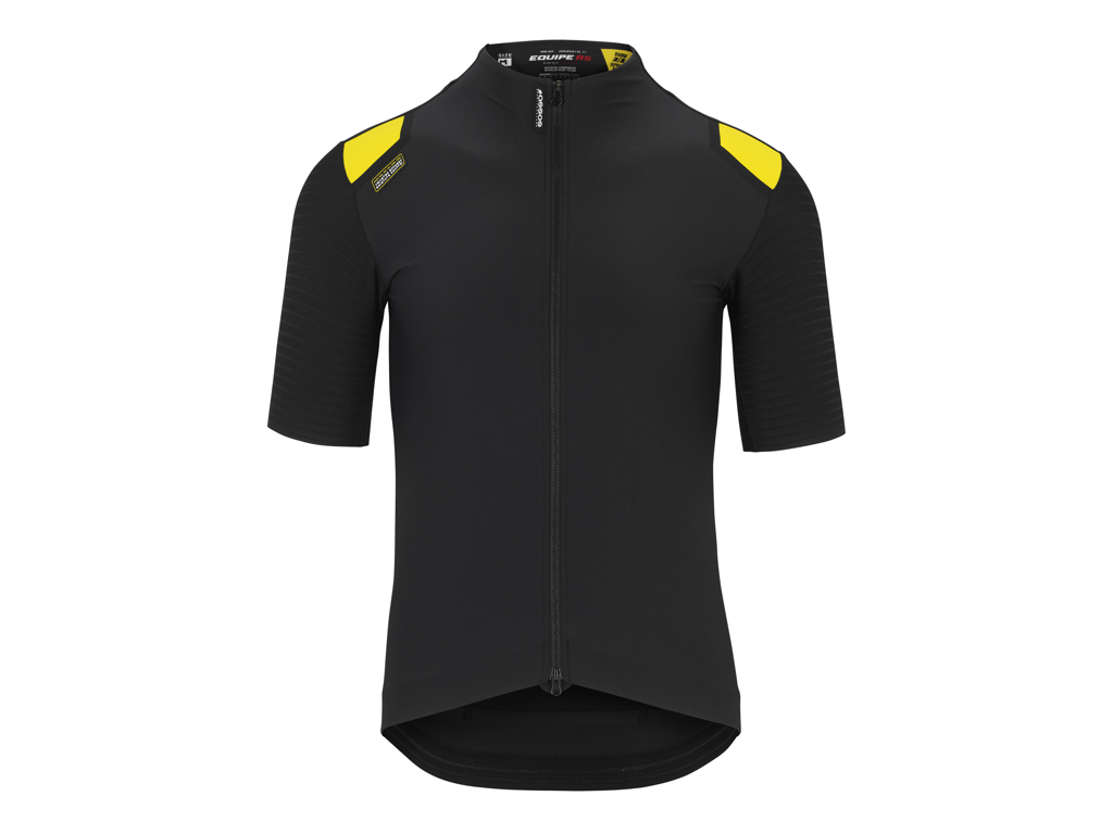 Image of   Assos Equipe RS Spring Fall Areo Jersey - Cykeltrøje K/Æ - Sort - Str. XL