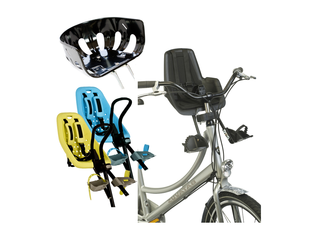 Cykelstol til foran