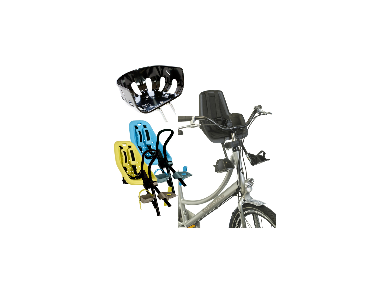 Cykelstol fram