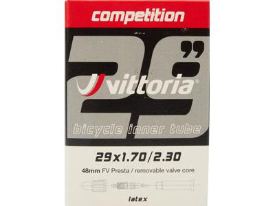 """Vittoria Slang 29"""" x 1,70-2,30 Latex med 48 mm lång ventil"""