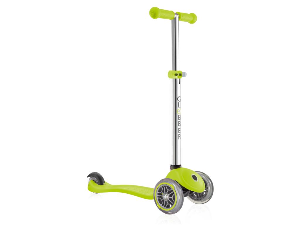 Image of   Globber Primo V2 - Løbehjul til børn med 3 hjul - Grøn