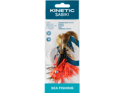 Kinetic Sabiki Loaded Skirt UV