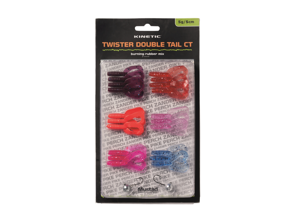 Kinetic Twister Dbl Tail CT - Burning Rubber Mix