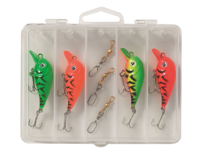 Kinetic Little Viking Go Fishing Lure Kit Wobbler