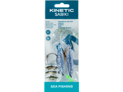 Kinetic Sabiki Twister XL