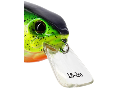 RawBite Crankbait 7cm 12g Floating Chopper GFR