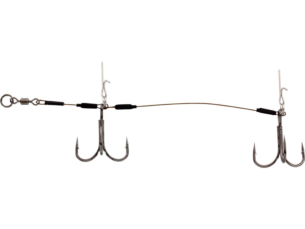 Pro Stinger Double 1x7 40,8kg 12cm #1/0 2pcs