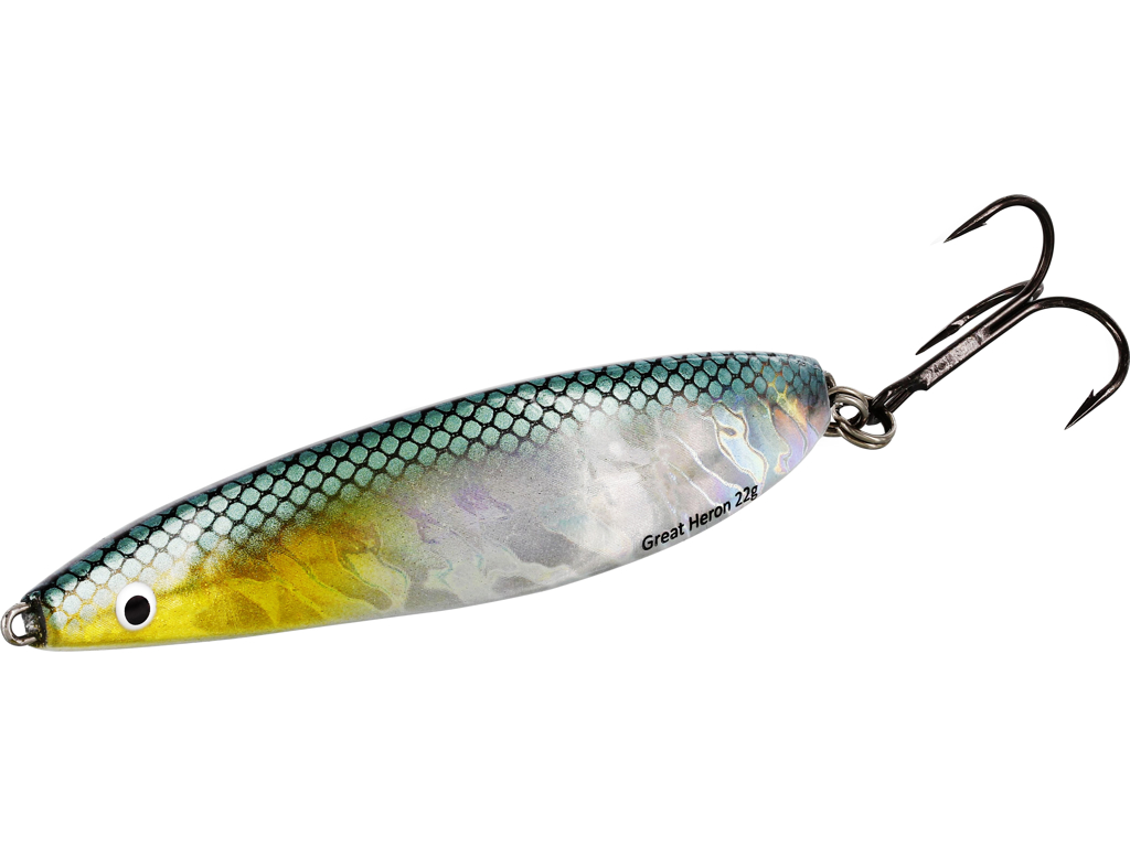 Great Heron 22g Steel Sardine  8,5cm