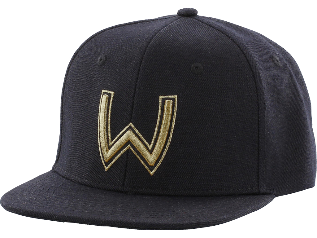 W Viking Helmet One size Black/Gold