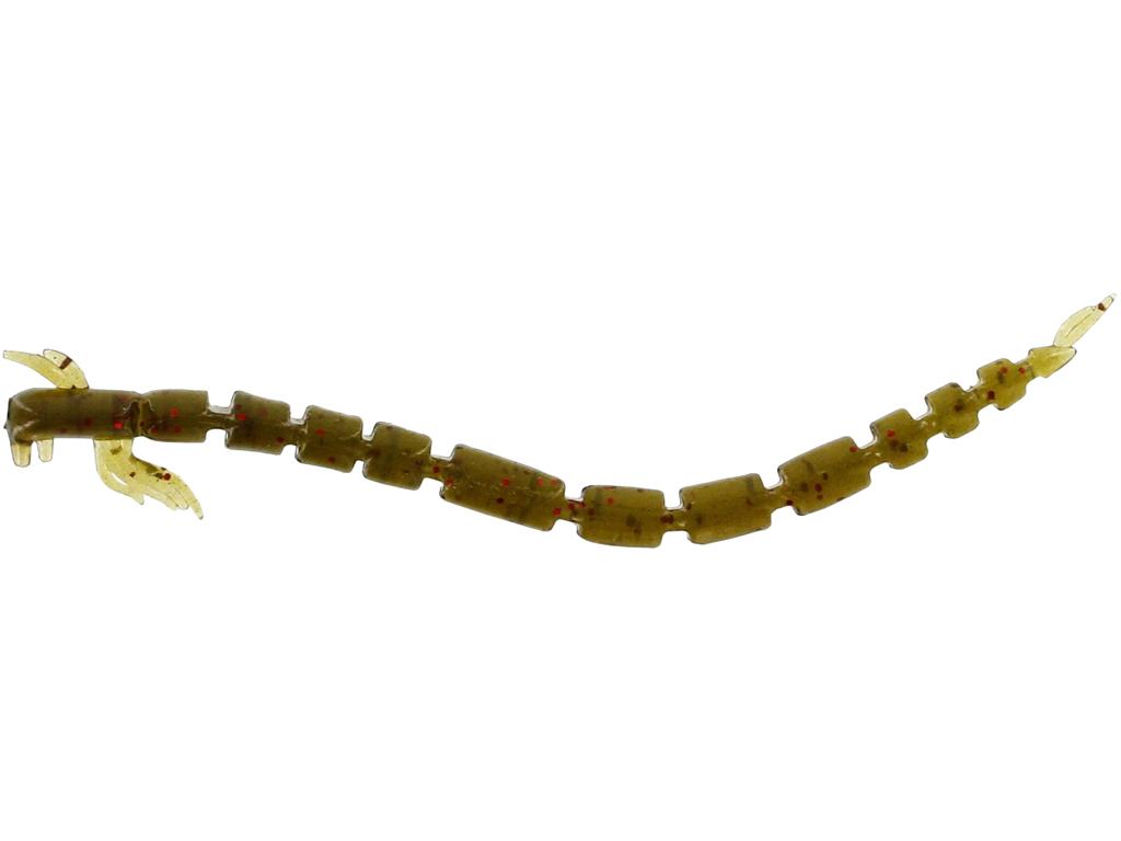 BloodTeez Worm 5,5cm 0,5g Seaweed 10pcs