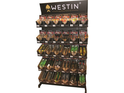 Westin Softlure Wall/Shelves Display